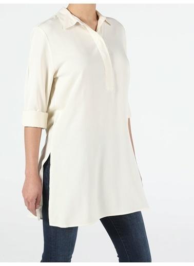 Colin's Kadın Uzun Kol Gömlek Bej